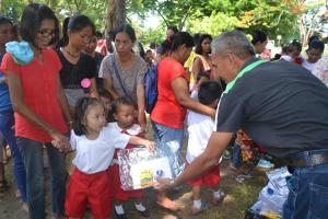 Launching of the 8th cycle Supplemental Feeding Program